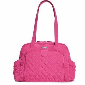 Vera Bradley Make A Change Baby Bag in Fuchsia